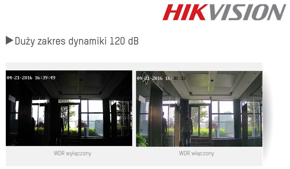 WDR 120dB Hikvision